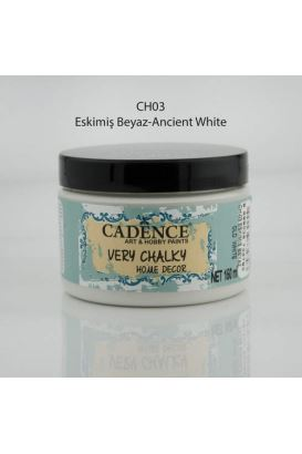 Cadence Very Chalky Home Decor Eskimiş Beyaz 150ml