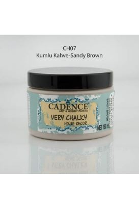 Cadence Very Chalky Home Decor Kumlu Kahve 150ml