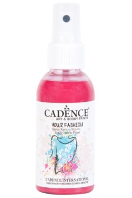 Cadence Your Fashion Sprey Kumaş Boyası Fuşya 100ml