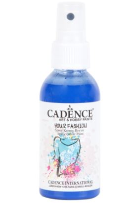 Cadence Your Fashion Sprey Kumaş Boyası Navy Mavi 100ml