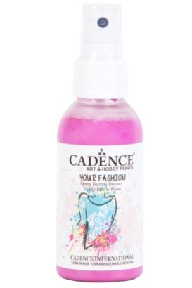 Cadence Your Fashion Sprey Kumaş Boyası Pembe 100ml