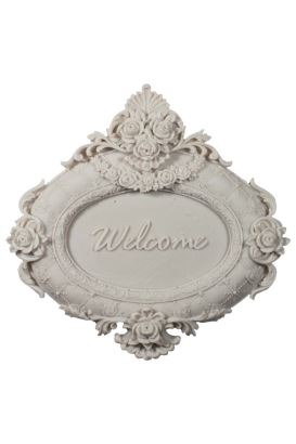 Craftsy Polyester Welcome Pano 18x18cm