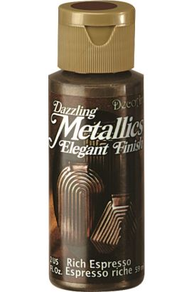 Decoart Metallıc Acrylıc Boya  Rich Espresso 59ml